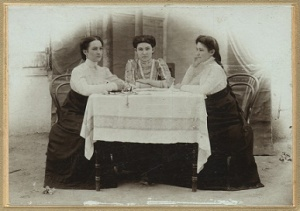 Three Olden-Day Teachers In the Pink-Tinged Ghetto