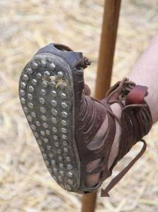 Caligae Sandal With Nails in Sole