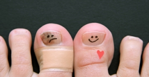 Cute Toenail Faces