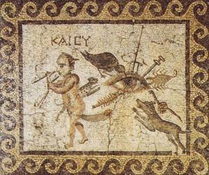 Demon With Big Schlong Mosaic