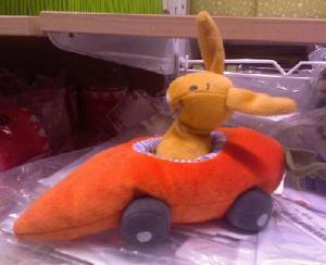 IKEA Bunny Carrot Car