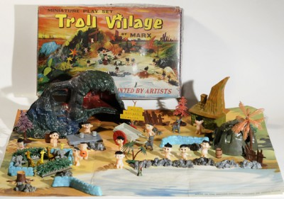 Troll Village By Marx