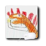 Young Artist Expo Dinosaur Mousepad, From 3DRose_LLC, Available Through Amazon