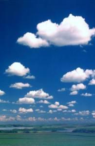 Puffy Clouds Receding