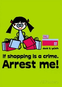 Shopping Is a Crime