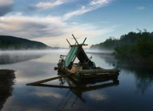 Huckleberrys Kon-Tiki Raft