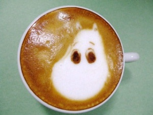 Moomintroll Coffee Foam on Pinterest