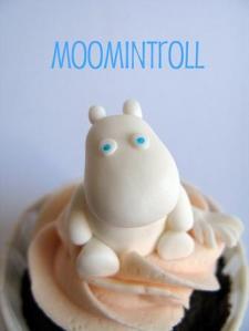Moomintroll Cupcake