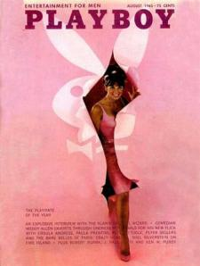 Pink Playboy Cover 1965