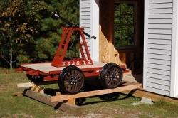 Home-Built Handcar Replica