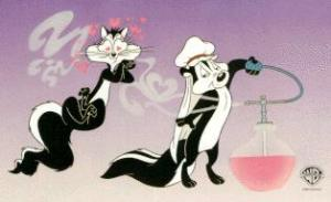 Pepe Le Pew Smells Terrific