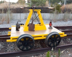 Sheffield Handcar or Kalamazoo Replica