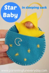 Starbaby in Moon Cradle Pocket