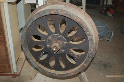 Teen-Built Handcar Wheel 1958