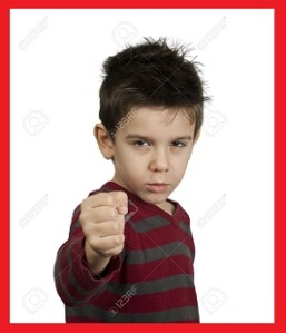 Little Angry Hispanic-Perhaps-Latino Boy