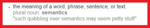Semantics Definition