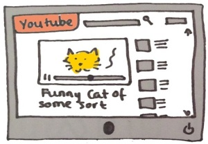 YouTube Funny Cat Distraction
