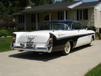 1956 Black and White De Soto