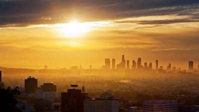 Los Angeles Smoggy Sunrise