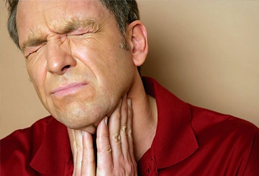 Painful Swallowing in Older Man