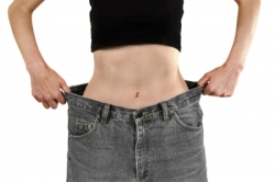 Sudden Weight Loss Skinny Woman In Average Jeans
