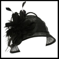 1920s Cloche With Feathers