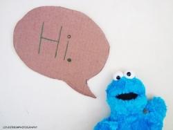 Cookie Say Hi
