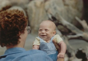 Justin At 3 Months At Zoo With 'Mom