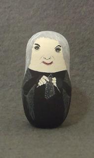 Murderous Grandma Matroishka Doll