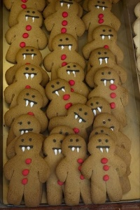 Gingerbread Boy Vampires