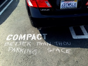 Better-Than-Thou Parking