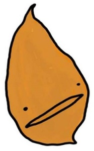 Cartoon of a Yam